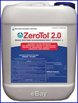 ZeroTol 2.0 / 2.5Gal / Algaecide / Bactericide / Fungicide