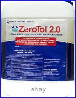 ZeroTol 2.0 Algaecide Bactericide Fungicide 2.5 Gallons